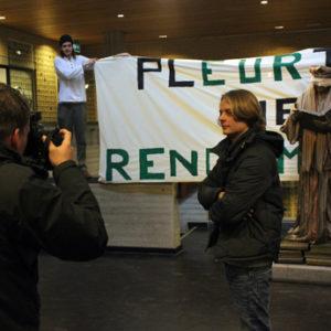 Bob-Scholte-nieuwe-universiteit-rotterdam-actiedag