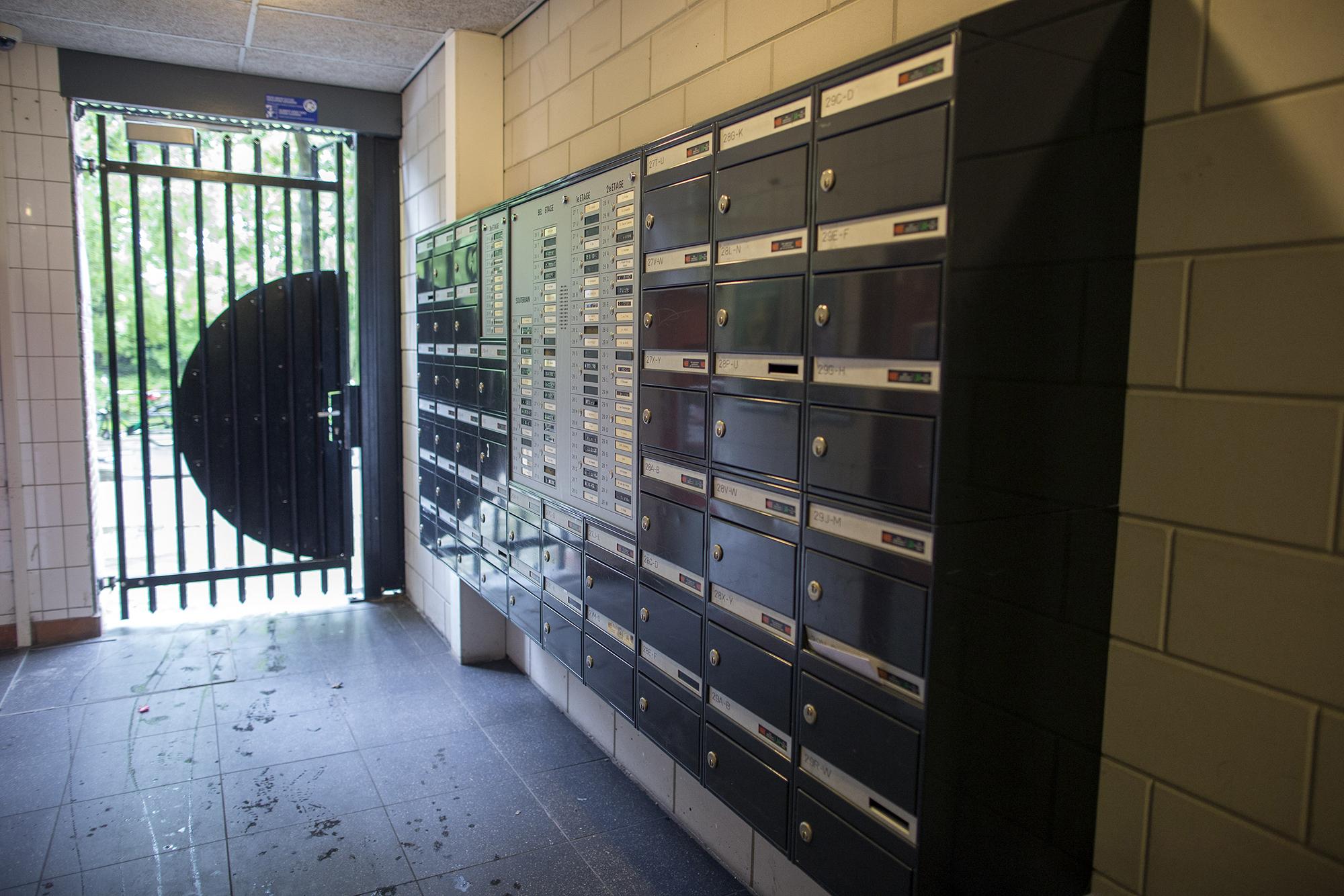 studentenhuis brievenbus kamers
