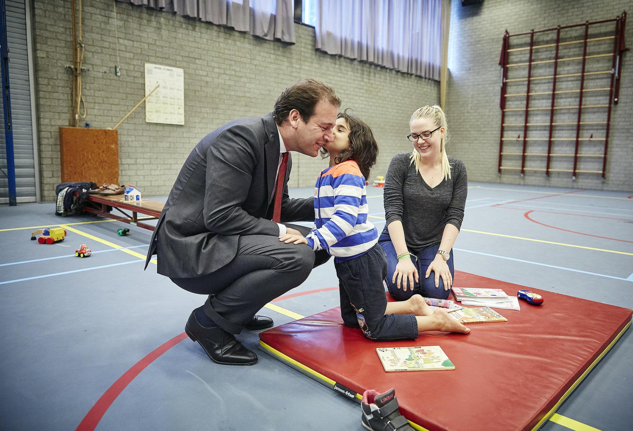 Minister Lodewijk Asscher bezoekt Erasmus Sport