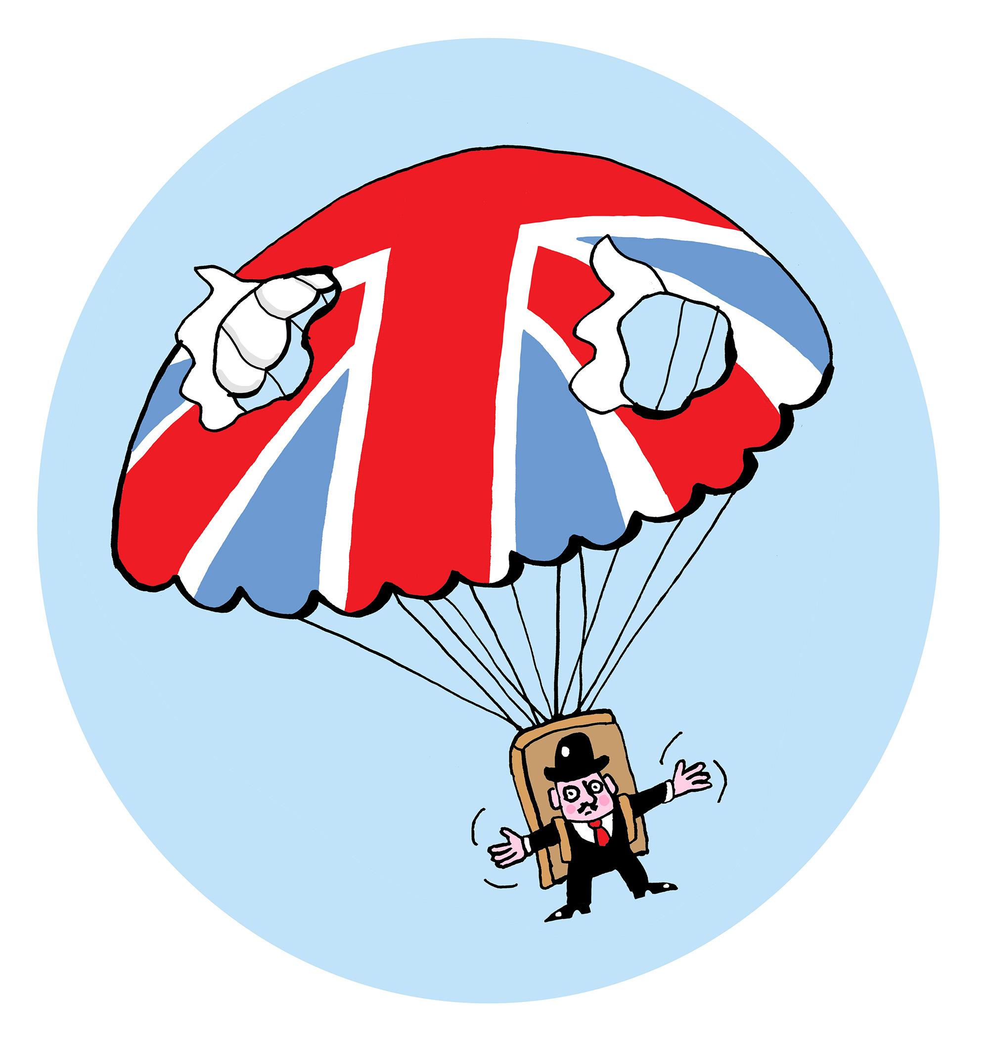 em-brexit parachutte