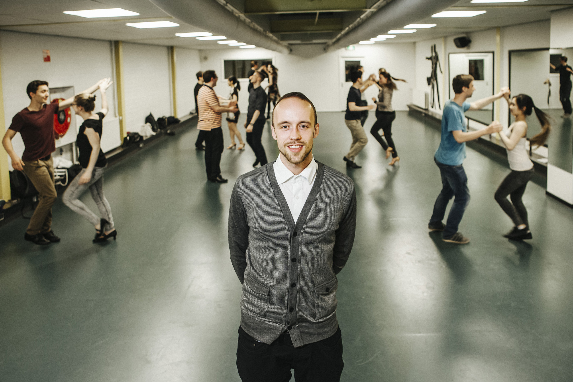 Olivier Flinterman, voorzitter Dance Society