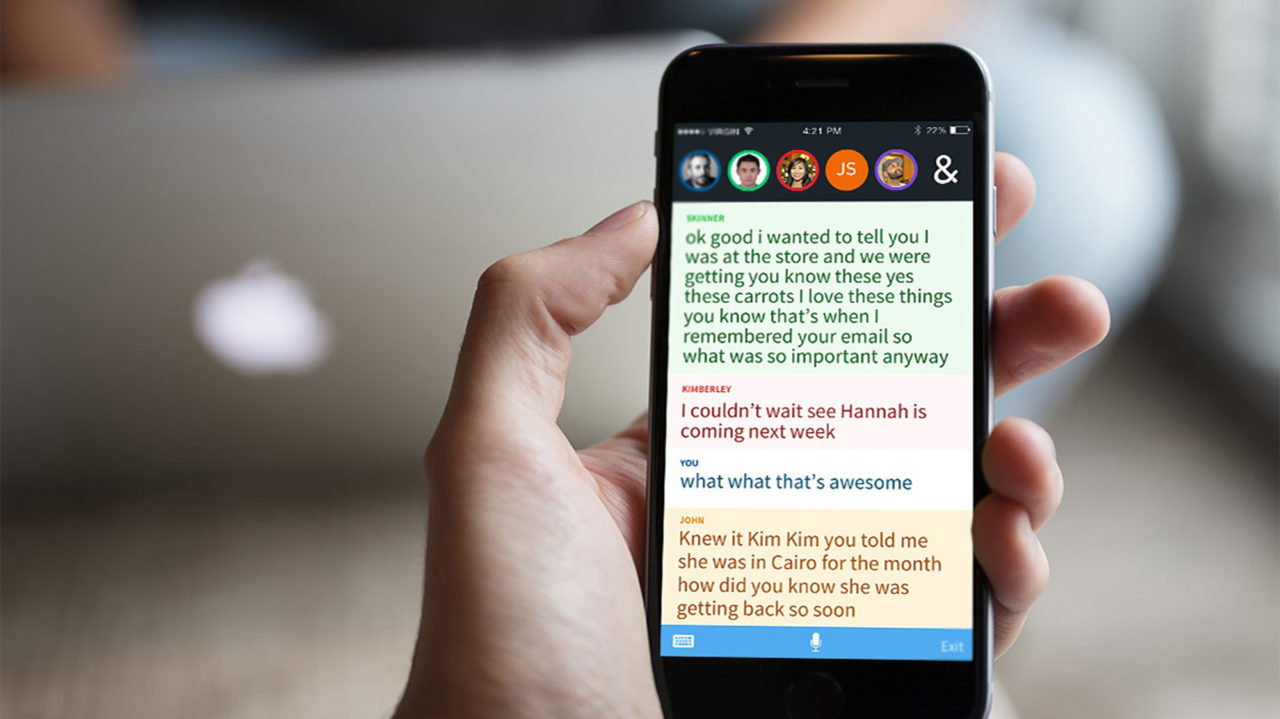 ava app voor doven en slechthorenden