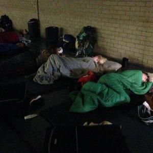 wakker worden in de sporthal eurekaweek 3