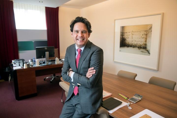 Willem Briët beheert als directeur ABN AMRO MeesPierson Rotterdam niet meer zijn eigen agenda en mailbox.