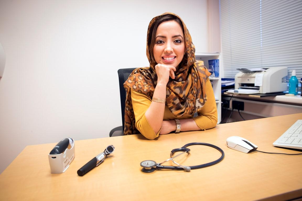 Zohra Moallemzadeh voelt het als een geschenk om huisarts te zijn.