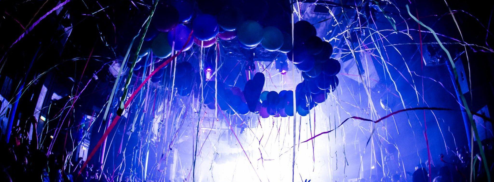ballonnen feest blauw Crazy Sexy Cool