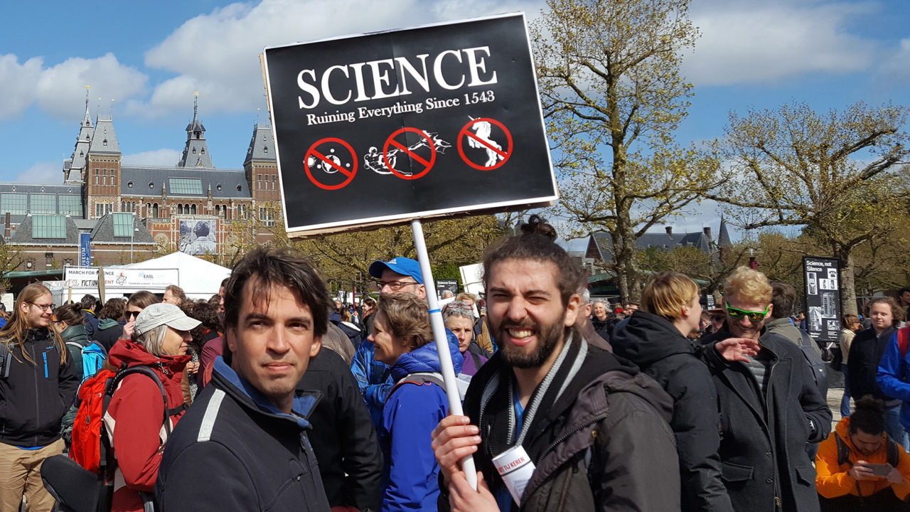 march for science 22 april musemplein ruining everything