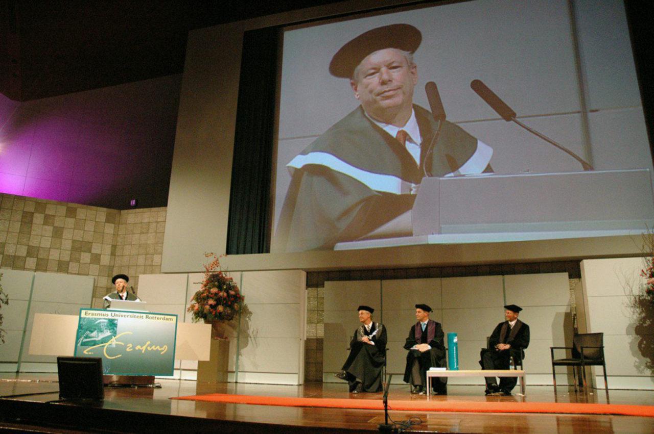 richard thaler eredoctoraat twitter erasmus universiteit