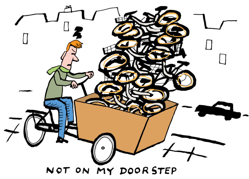 em-fietsen obike not on my doorstep