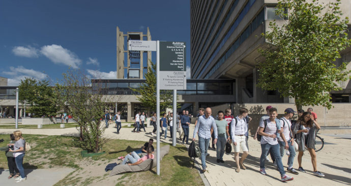 campus; woudestein; security; eur; universiteit; university