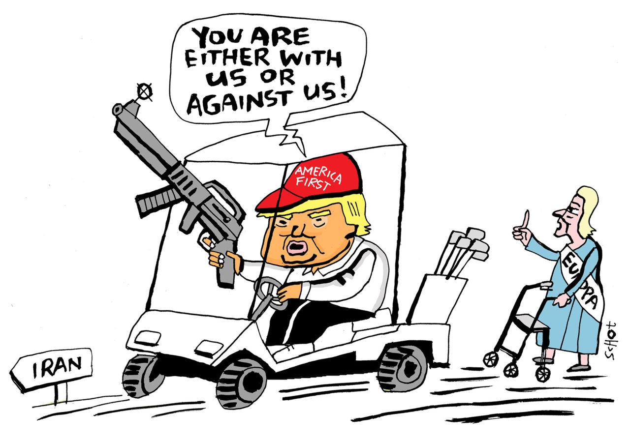 De-kwestie-Iran-deal-Trump-bas-van-der-schot