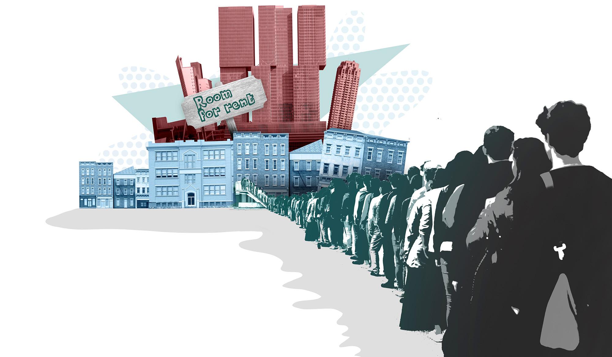 Woningnood internationale studenten groter dan anders