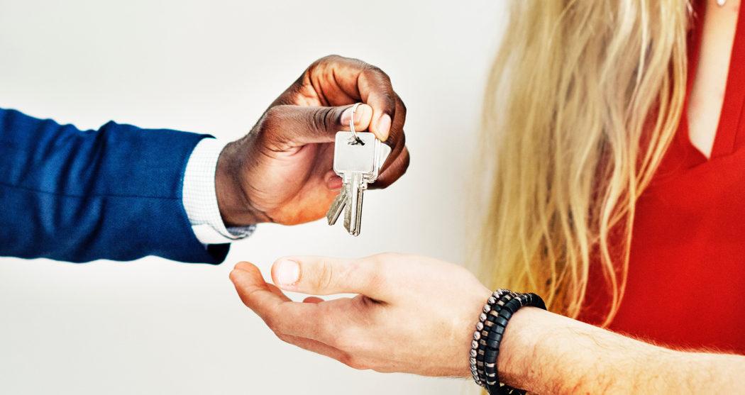 Huis kopen koppel sleutel