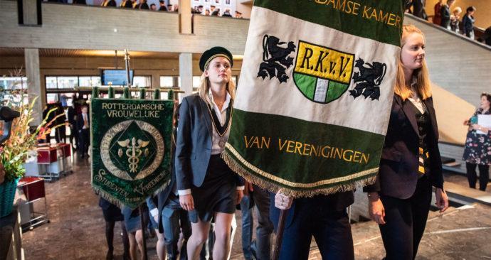 RSCRVSV, RKvV en meer studentenverenigingen tijdens de Dies Natalis 2018