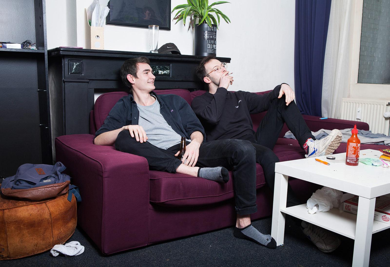 Lukas-ries-and-roommate-Geisje-van-der-Linden