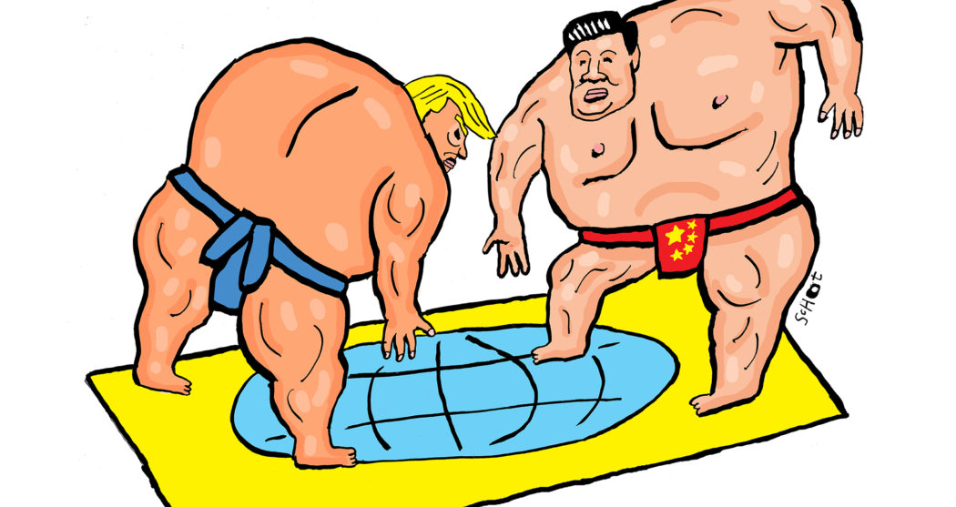 basvdschot_sumo-China-vs-sumo-Trump