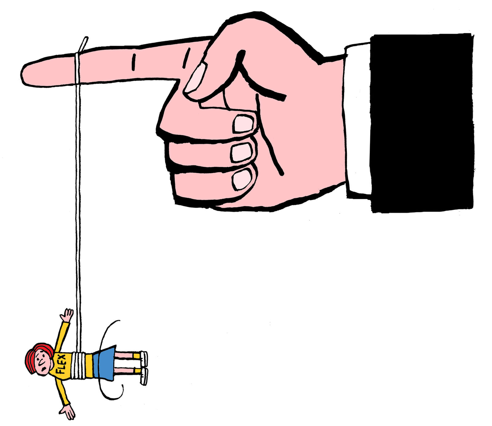 em-flex-touwtje-vinger-flexwerken-arbeidsvoorwaarden