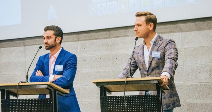 Stephan-van-Baarle-en-Tim-Versnel-debat-toekomst-arbeidsmarkt-Eby-Tafese