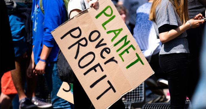 duurzaamheid protest