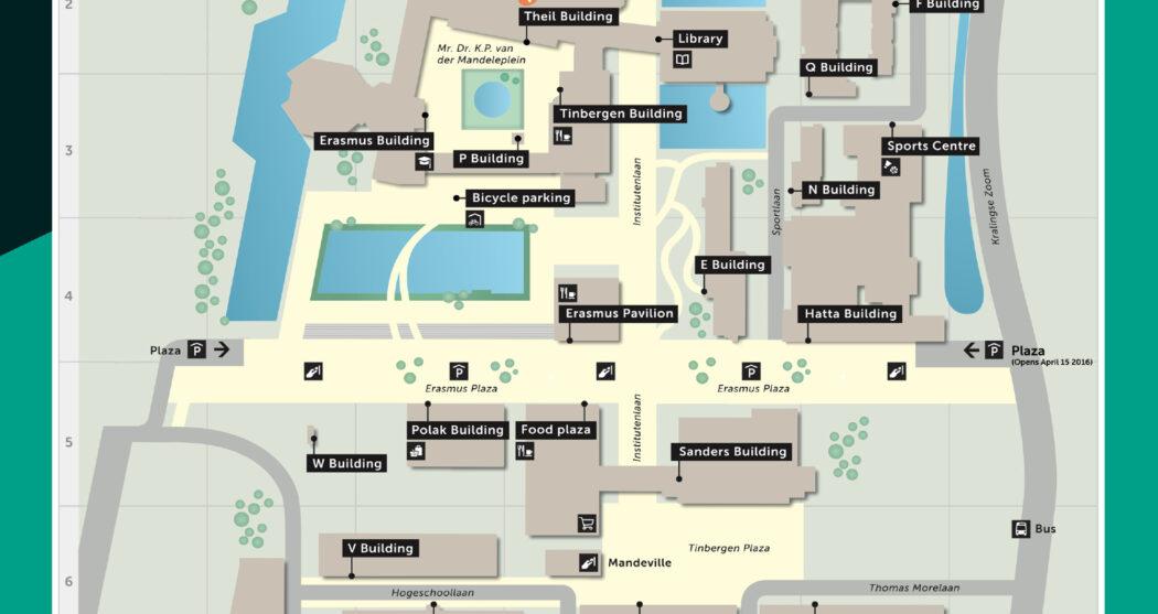kaartje Campus Woudestein