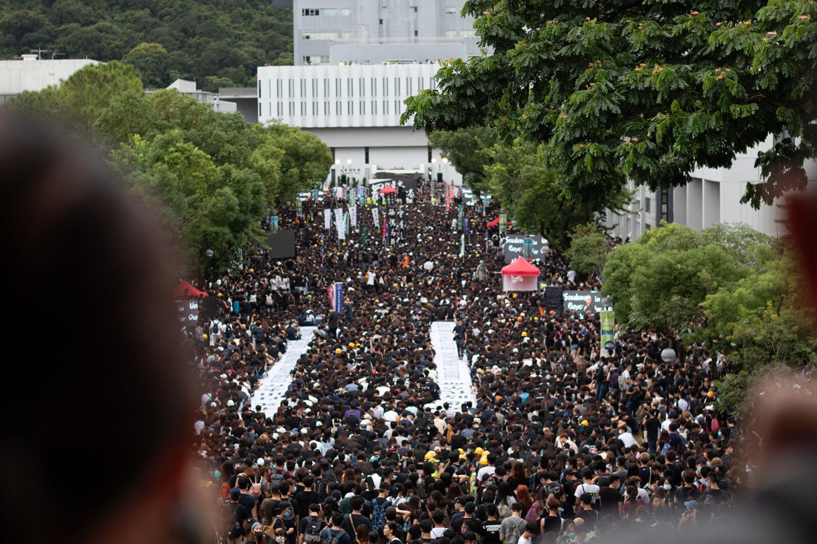 Boycot opening academisch jaar in Hongkong – Wouter