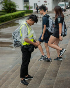 Geel hesje in Hongkong – Wouter