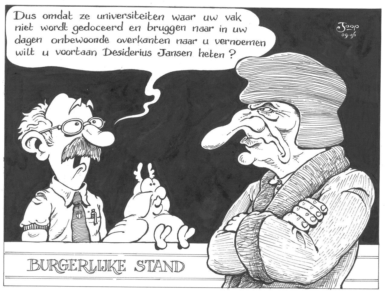 Burgerlijke stand – Joop Verkamman