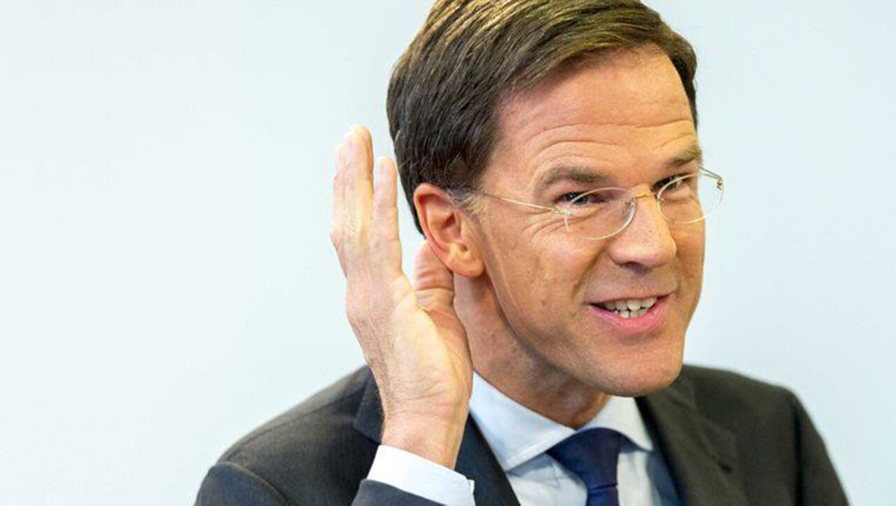 mark rutte tikkies sturen