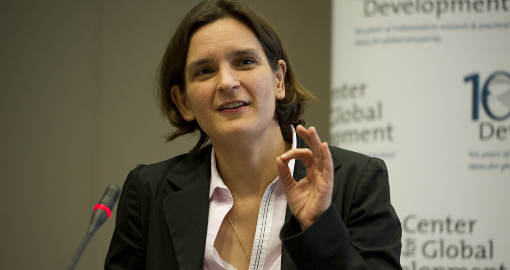 Esther Duflo – Center for Global Development