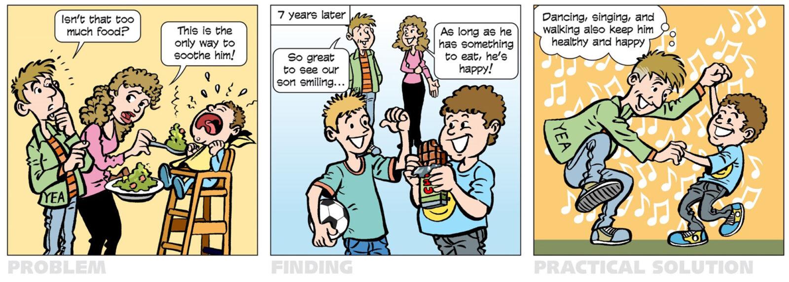 cartoon YEA – obesity