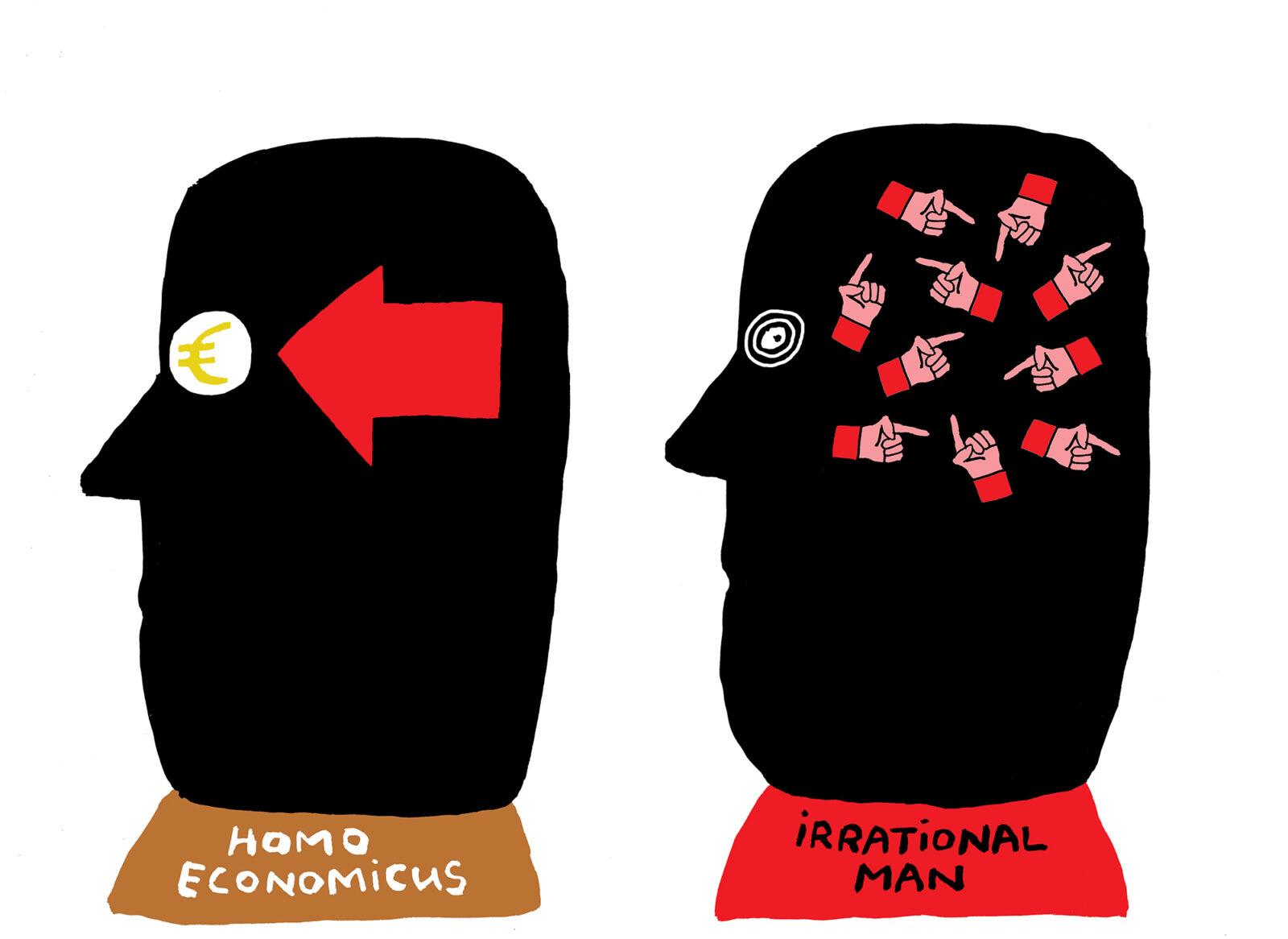 em-homo economicus irrational man-Bas van der Schot