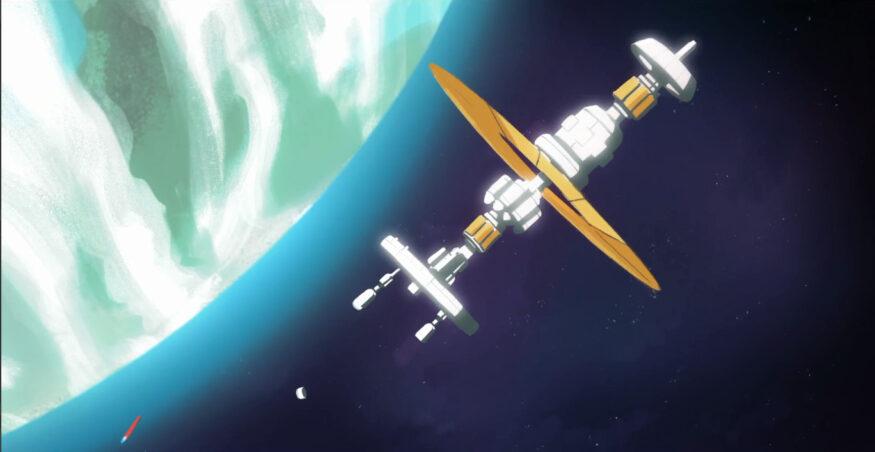 robin interactieve film ruimtestation