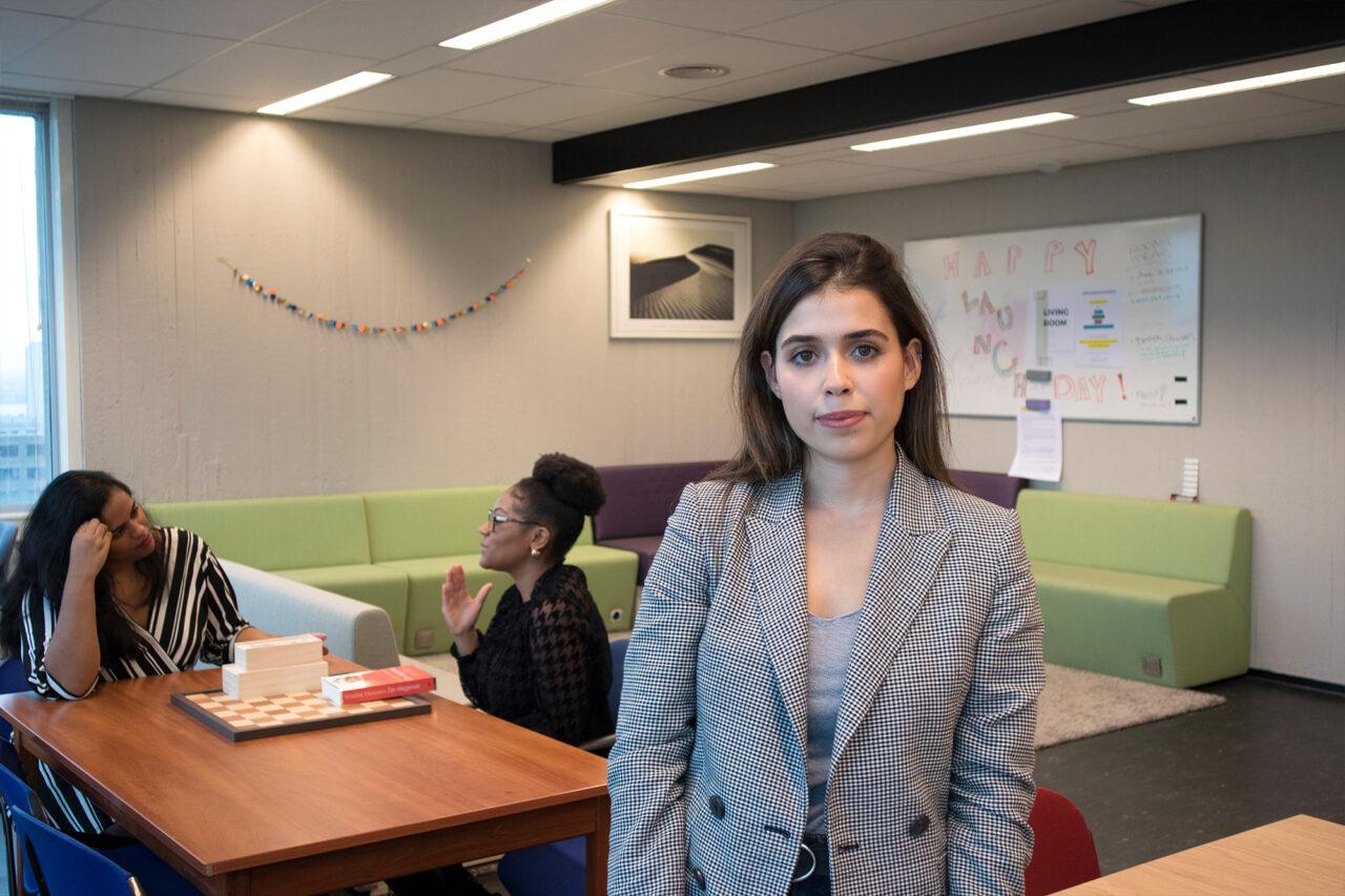 Erasmus School of Colour_Amber Leijen (1)_Melisa Ersoy_Alyssa Renfurm en Merel Dap