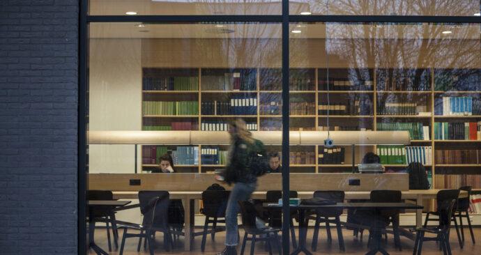 Winterse dag op de campus_Amber Leijen_vrije opdracht (5)