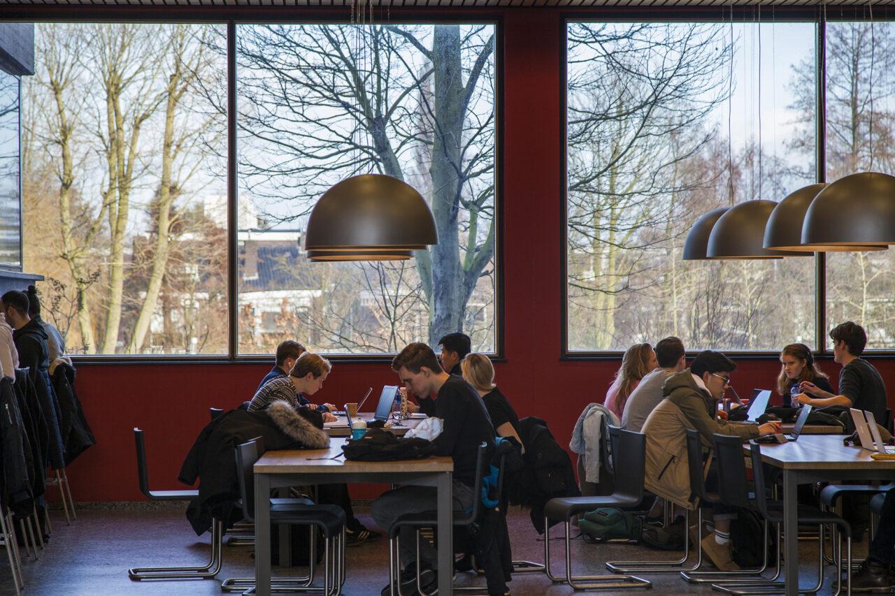 Winterse dag op de campus_Amber Leijen_vrije opdracht (16)