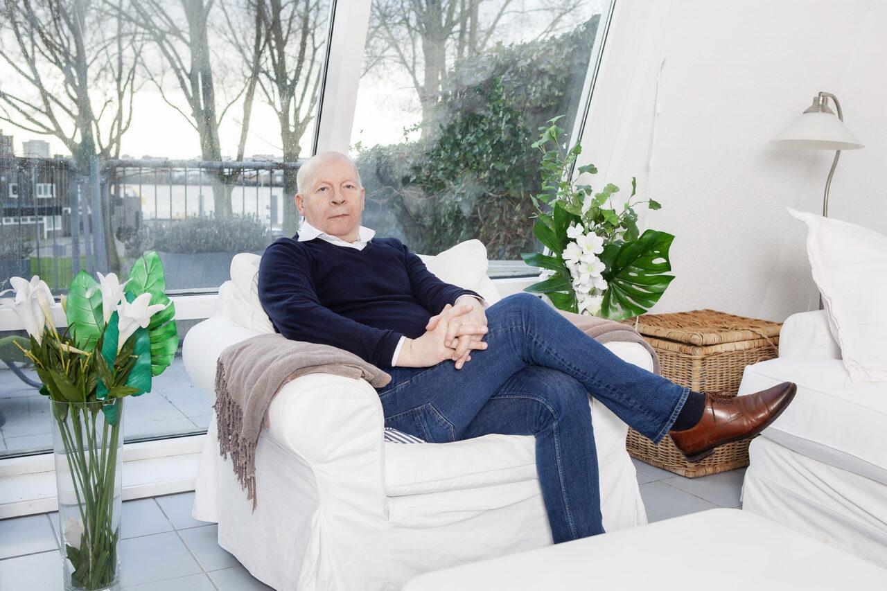 Willem Verbeke thuis – Geisje van der Linden