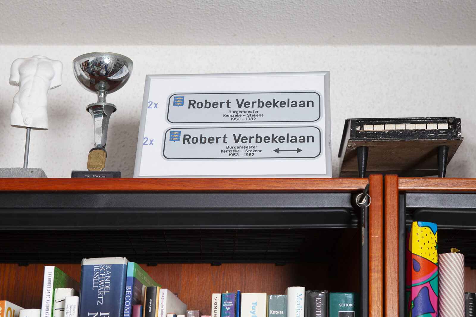 Willem Verbeke straatnaambord – Geisje van der Linden