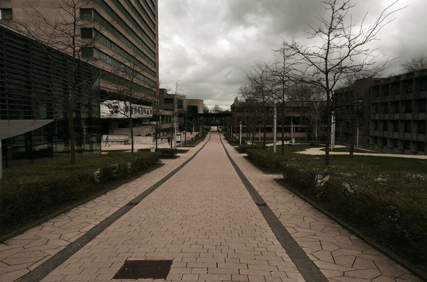 coronavirus verlaten campus institutenlaan