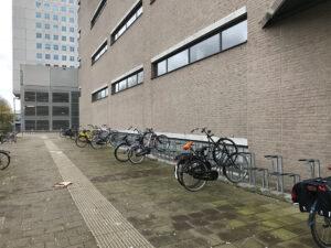 fiets coronavirus verlaten campus van der goot