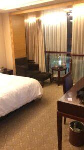 hotelkamer quarantaine Nick