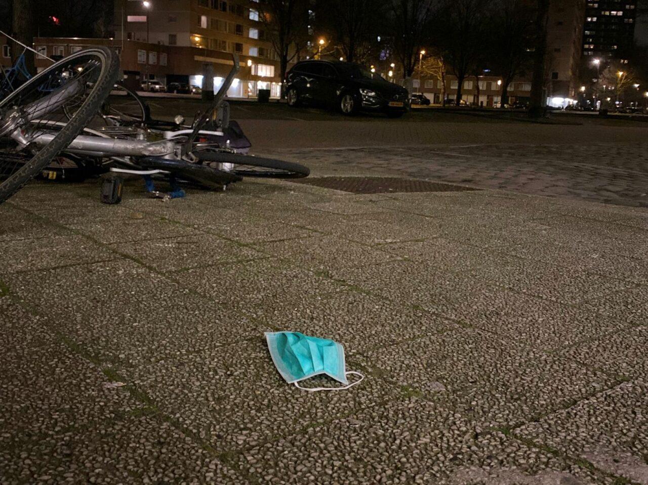 mondkapje voor studentenhuis in Rotterdam – Milena Chopova