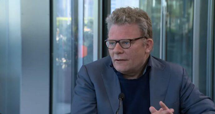 Rutger Engels in Erasmus TV 26 maart