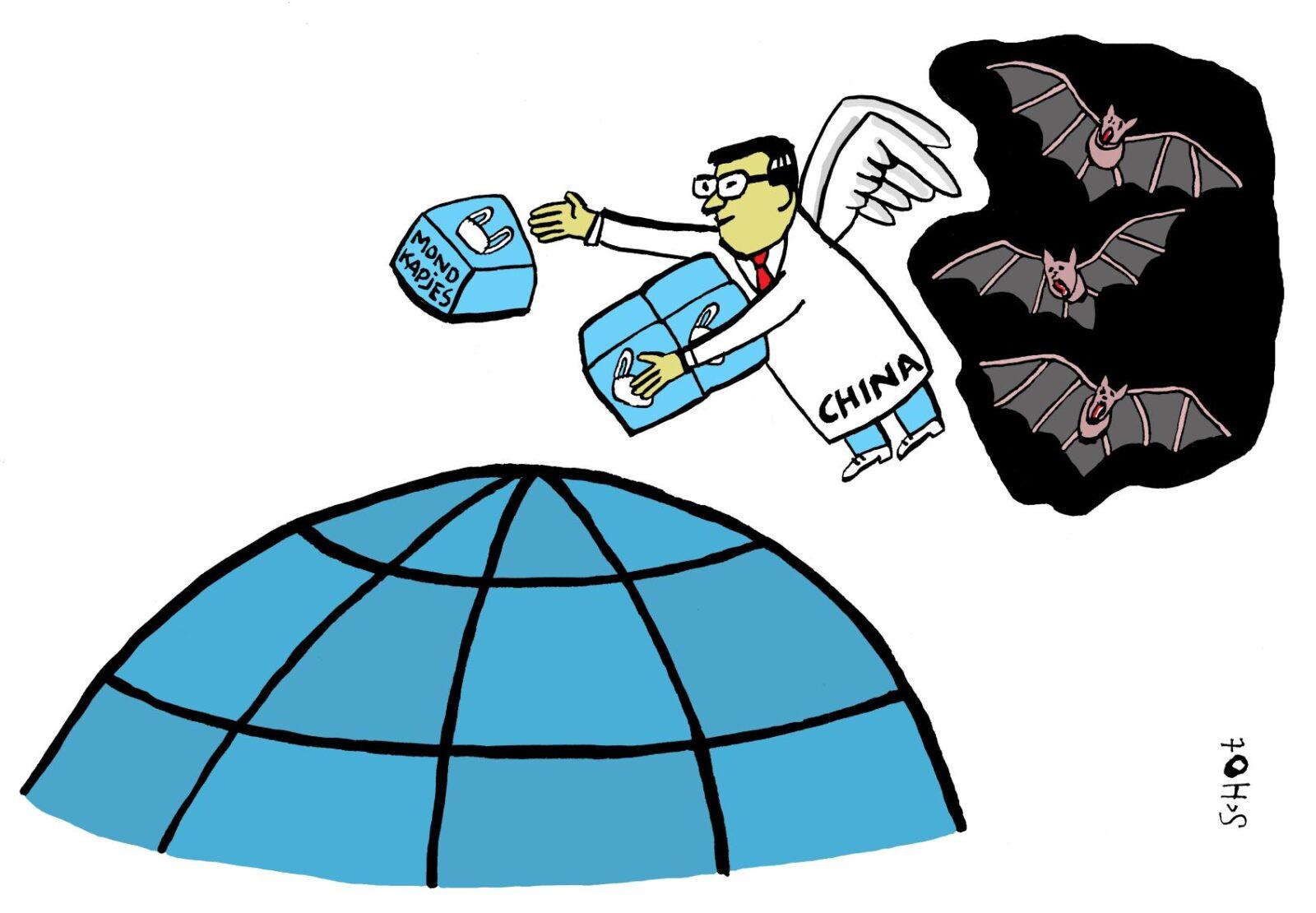 kwestie china corona vleermuis – bas van der schot