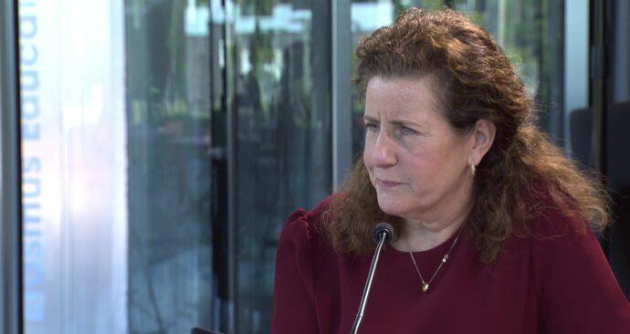minister Ingrid van Engelshoven Erasmus TV