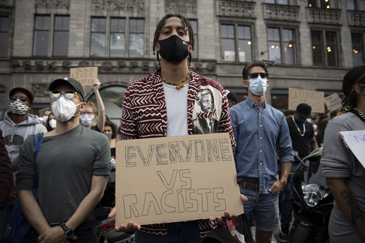 Black Lives Matter demonstratie Amsterdam foto Wouter Sterrenburg (4 of 10) (2000px)