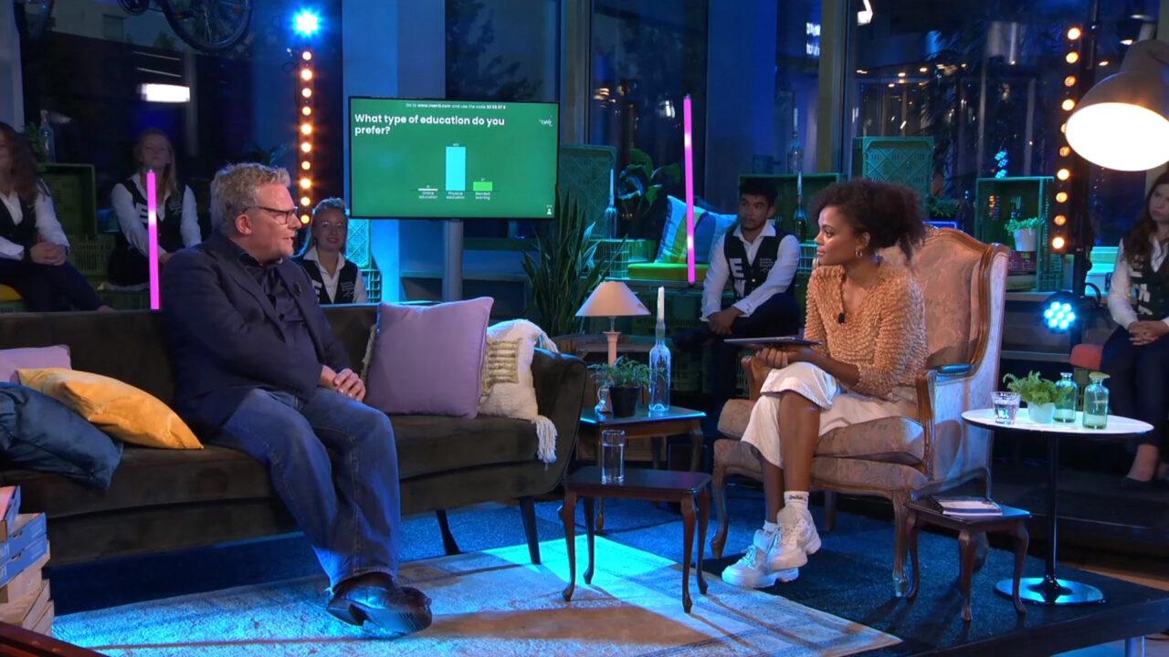rutger engels talkshow Erasmus Live