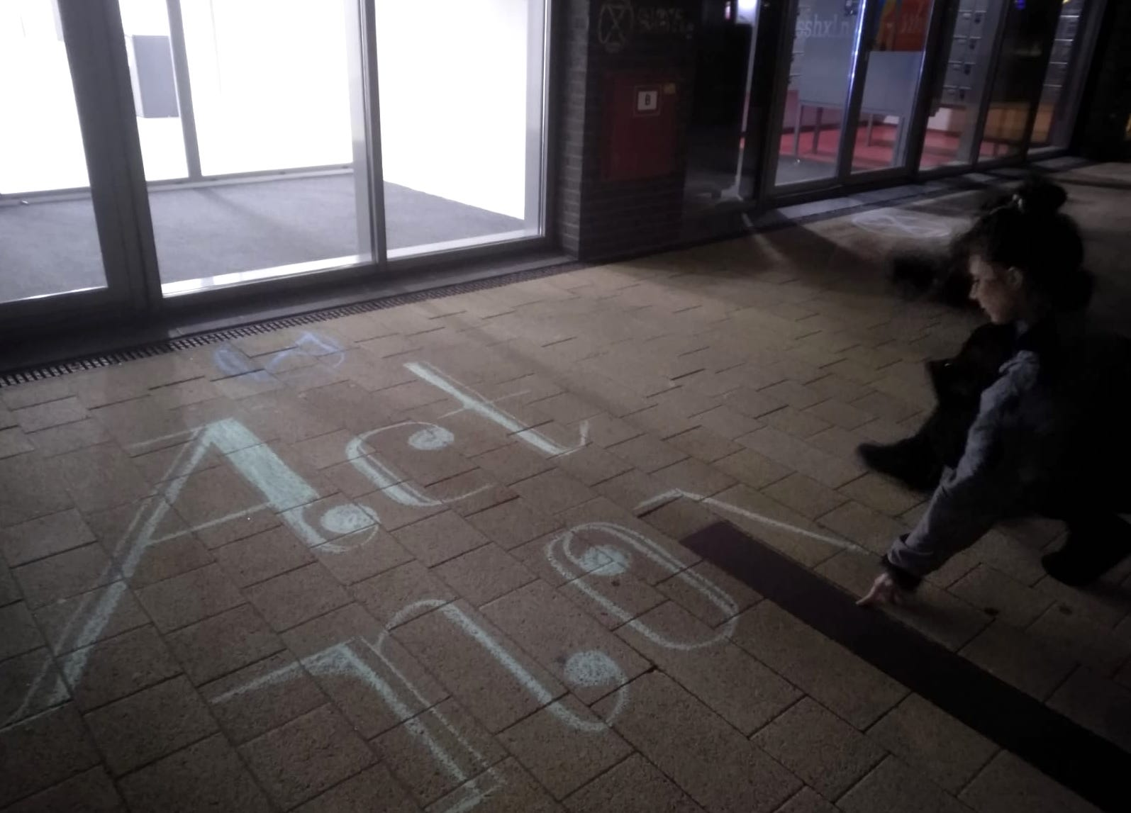 Chalk by University Rebellion 2