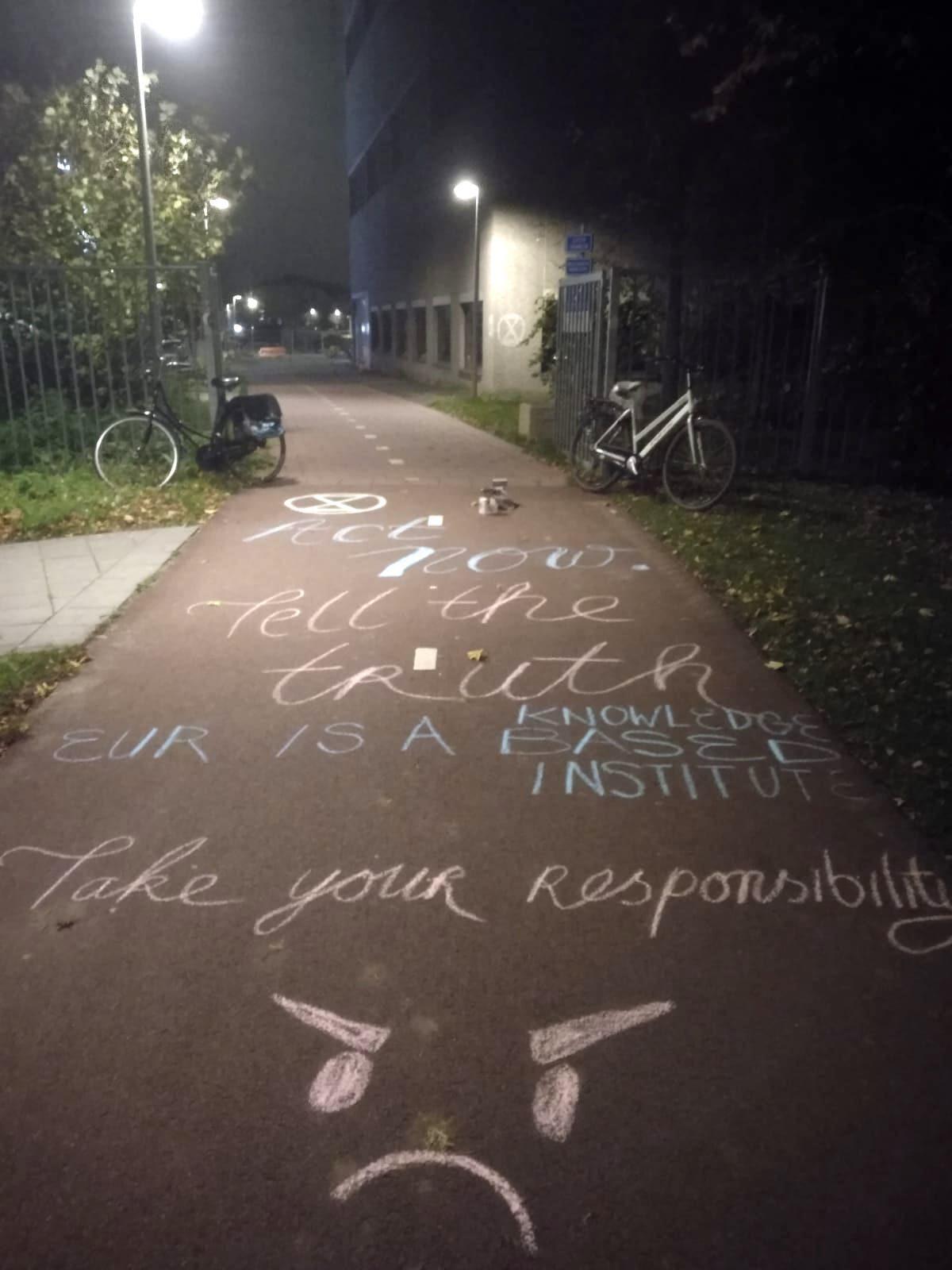Chalk by University Rebellion
