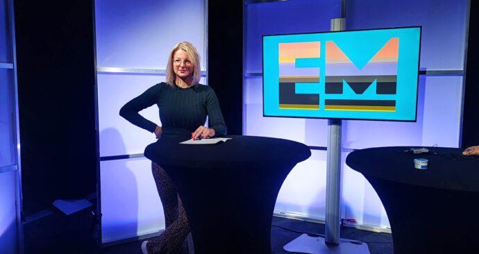 Tessa Hofland presenteert EM TV