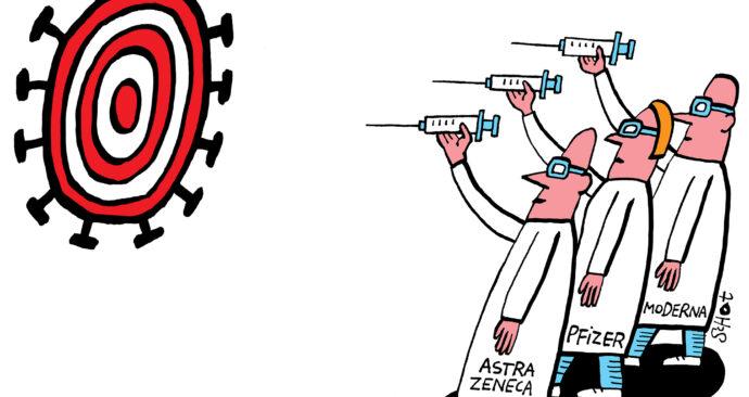 Kwestie vaccin schietschijf – Bas van der Schot
